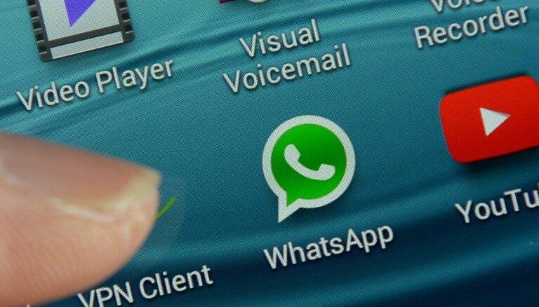 Lietotne 'WhatsApp' izmantota kiberuzbrukumā
