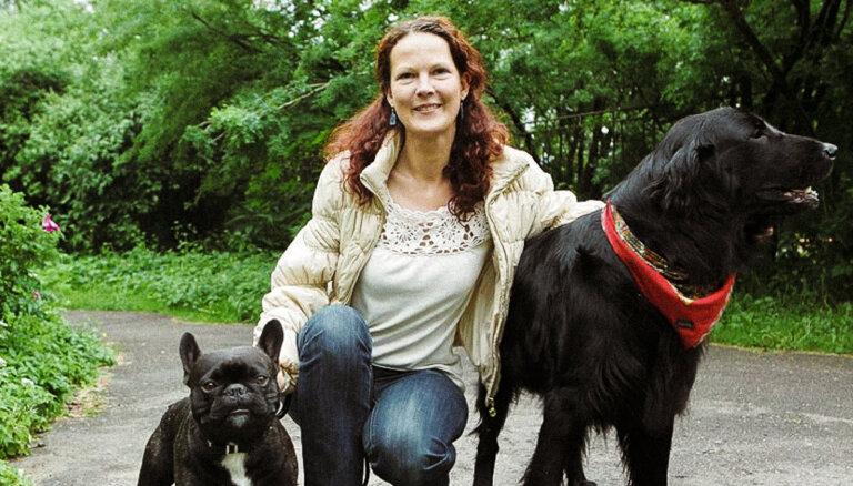 Pirmā profesionālā dzīvnieku aukle Baltijā: ar mīlestību pret dzīvniekiem vien nepietiek