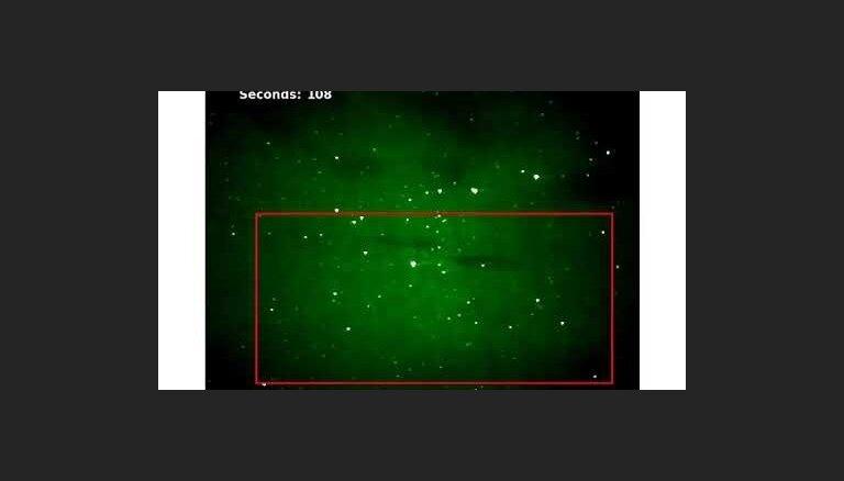 Krāšņi un neparasti: vecā video uziet jaunu polārblāzmas parādību