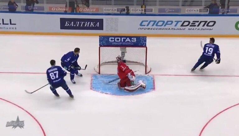 Video: Austrumu konferences komanda gūst 18 vārtus un uzvar KHL Zvaigžņu spēlē