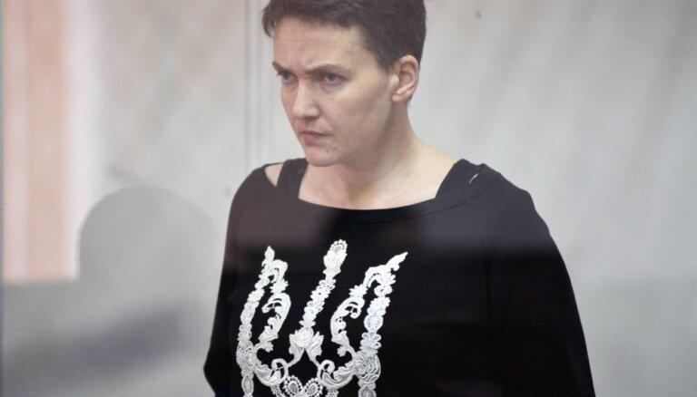 Украина: Надежда Савченко объявила о прекращении голодовки