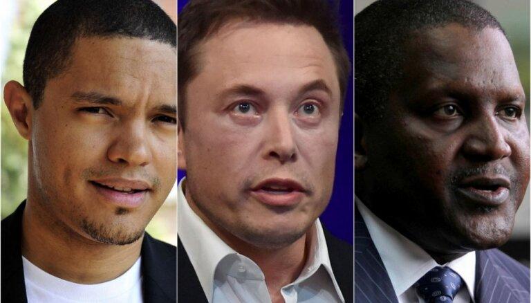 Pasaules 100 ietekmīgāko afrikāņu vidū Masks, Noa un daudz nigēriešu