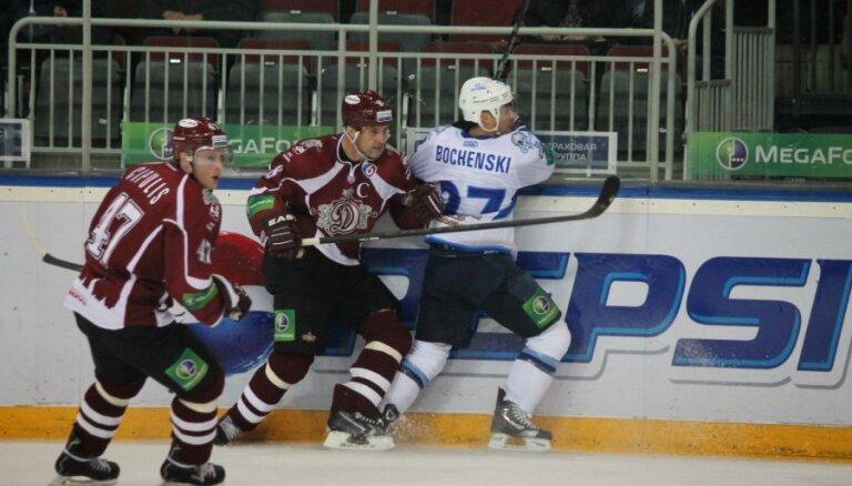 Rīgas 'Dinamo' ar uzvaru garā 'bullīšu' sērijā atsāk KHL čempionātu