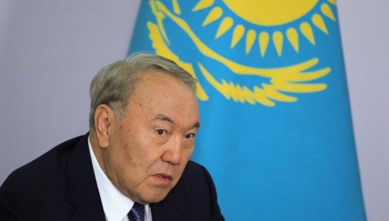 Ilggadējais Kazahstānas līderis Nazarbajevs inficējies ar Covid-19