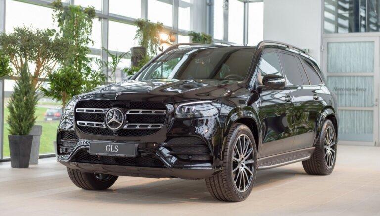 Foto: Latvijā prezentēts jaunais 'Mercedes-Benz GLS' apvidnieks