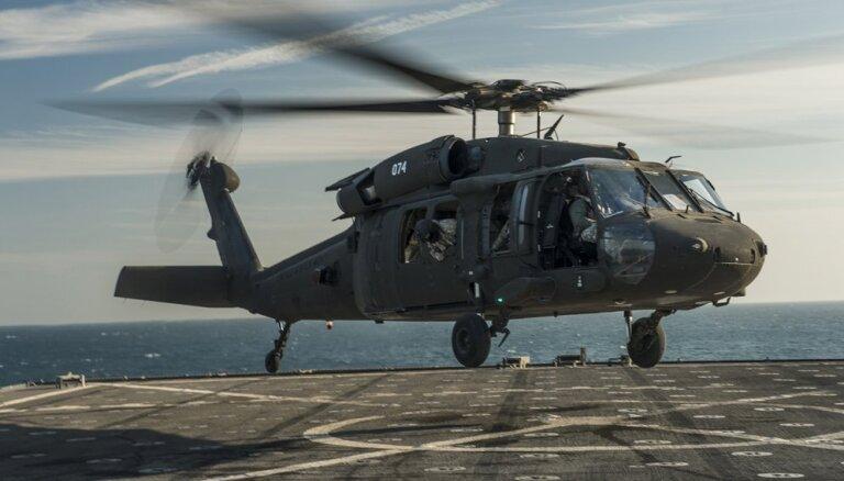 В Латвию доставят пять американских вертолетов Blackhawk