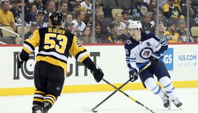 Bļugeram sliktākais lietderības koeficients 'Penguins' sezonas otrajā zaudējumā