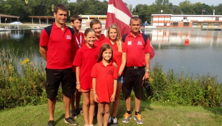 Latvijas ūdens motosporta jaunatnes izlase izcīna sesto vietu pasaules čempionātā