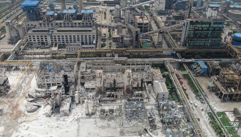 Взрыв газа на заводе в Китае: десятки погибших и пропавшие без вести