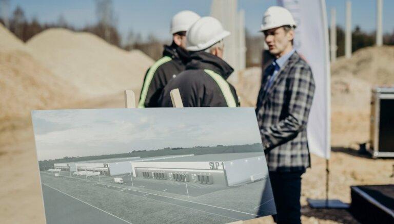 Foto: Stopiņu novadā sāk būvēt 45 miljonus eiro vērtu industriālo parku