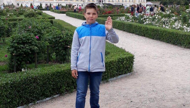 Policija lūdz palīdzību zēna meklēšanā Lielvārdē