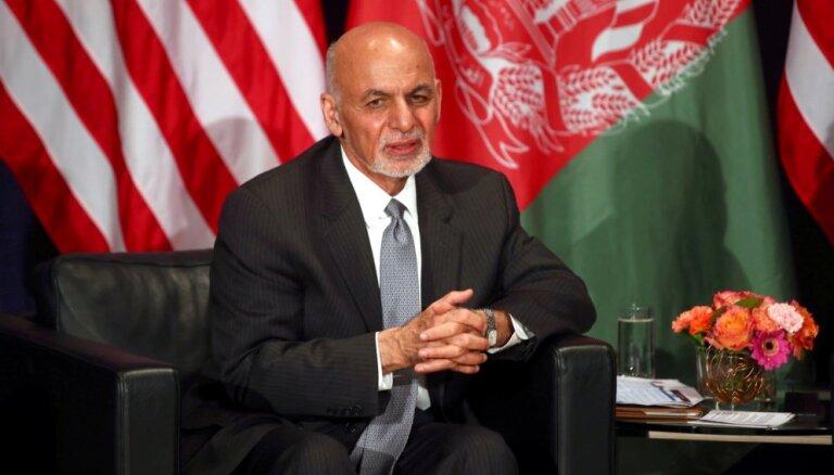 Gani termiņš Afganistānas prezidenta amatā pagarināts līdz jauna prezidenta ievēlēšanai