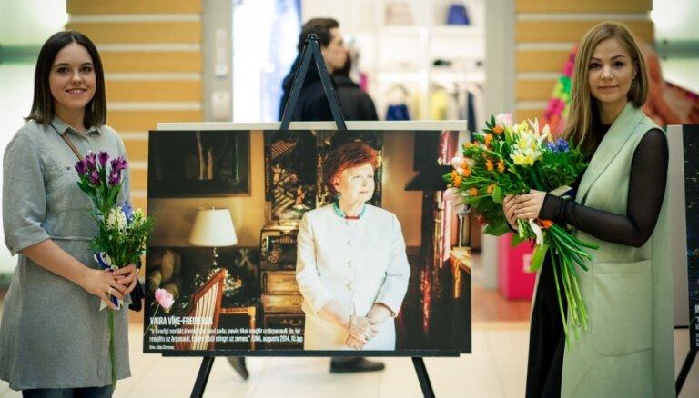 Vīķes-Freibergas, Patmalnieces un citu sieviešu portreti izstādē 'Viņas var!'