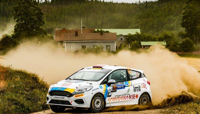 Seska ekipāžai devītā vieta junioru WRC klasē, Tanaks nostiprinās kopvērtējuma vadībā