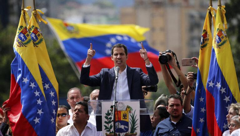 Европейские страны назвали условия признания Гуаидо президентом Венесуэлы