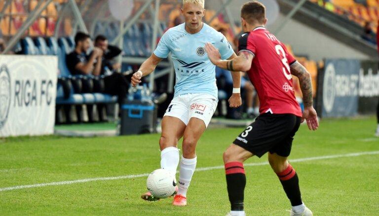 'Riga' uzvar arī viesos un iesoļo UEFA Konferences līgas trešajā kārtā