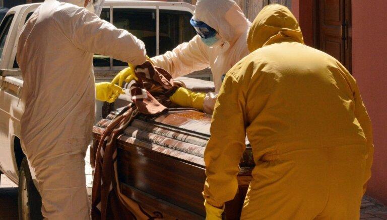 Bolīvijā atrasti vairāki simti ar Covid-19 inficētu cilvēku līķu