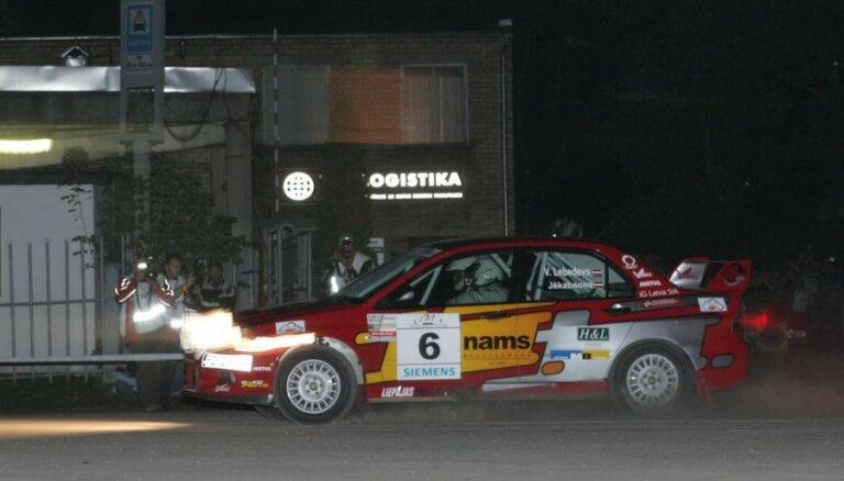 Latvijas rallija ieskaitē atgrežas bijušais Latvijas čempions Viktors Lebedevs