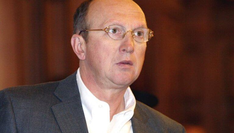 Bijušais premjers Krištopans ziedojis 5000 eiro Sudrabas partijai