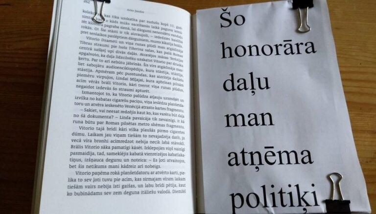 Latvijas literāti 'Facebook' sāk spontānu akciju 'NĒesošā grāmata'