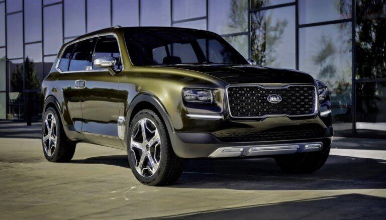 'Kia' milzīgo apvidnieku mediji jau nodēvējuši par korejiešu 'Bentley'