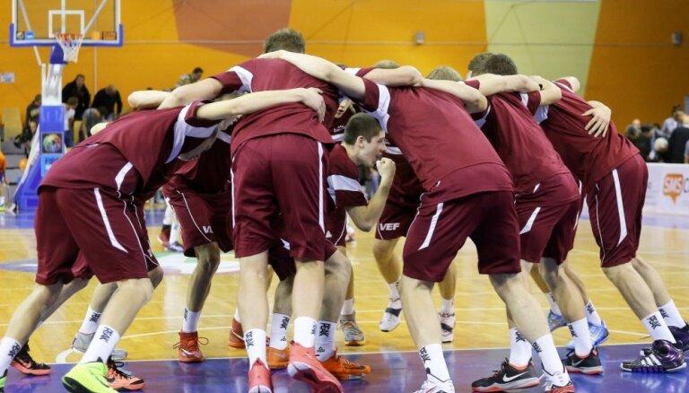 Latvijas U-16 puišu izlase pārbaudes mačā uzvar Ukrainu
