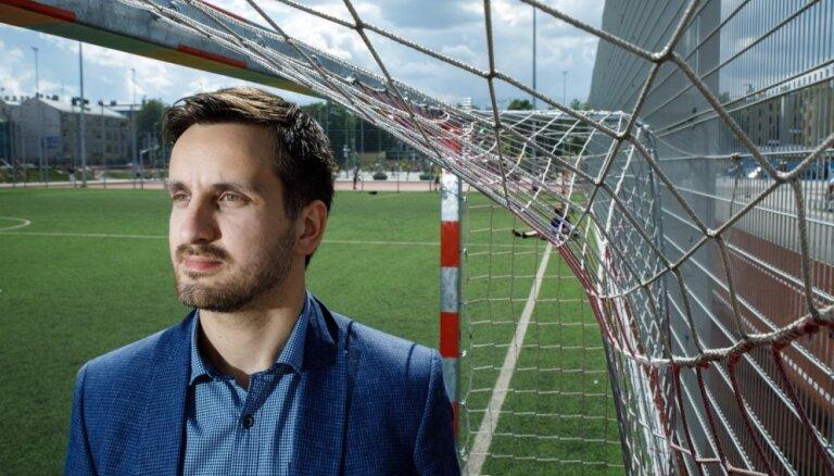 Staiceles futbola bāzei ceturtais vadītājs dažos mēnešos - LFF ģenerālsekretārs Pukinsks