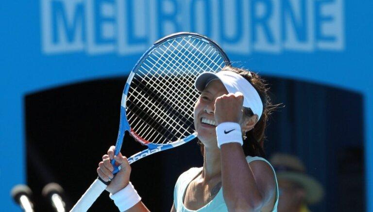 Ķīniete Na Li pirmo reizi karjerā iekļūst 'Grand Slam' turnīra finālā (14:45)
