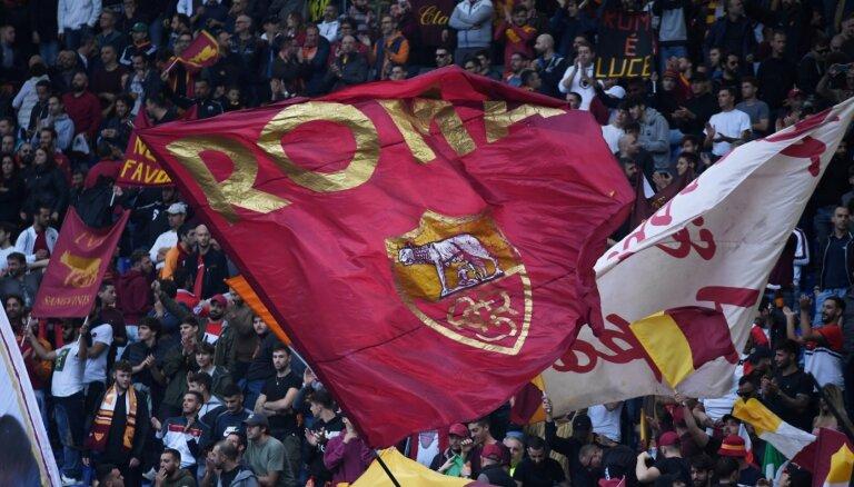 Amerikāņu miljardieris par 591 miljonu eiro iegādājies futbola klubu 'AS Roma'