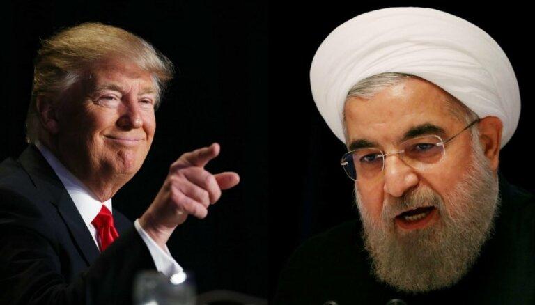 ASV ievieš jaunas sankcijas pret Irānu
