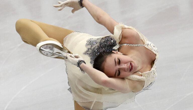 EČ daiļslidošanā sākas ar olimpiskās čempiones Zagitovas uzvaru īsajā programmā