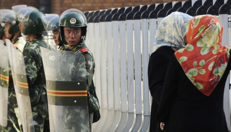 Uiguru vajāšana Ķīnā: Vācijā pieaug patvēruma lūdzēju skaits