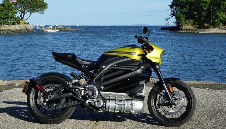 Harley Davidson начнет выпускать электрические мотоциклы