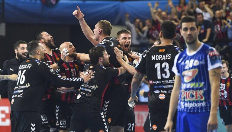 Krištopānam lielisks sniegums EHF Čempionu līgas ceturtdaļfināla pirmajā mačā