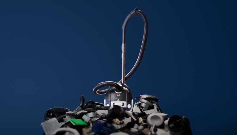 'Electrolux' izstrādājis putekļsūcēju no 100% otrreizēji pārstrādātiem un atkārtoti izmantotiem materiāliem