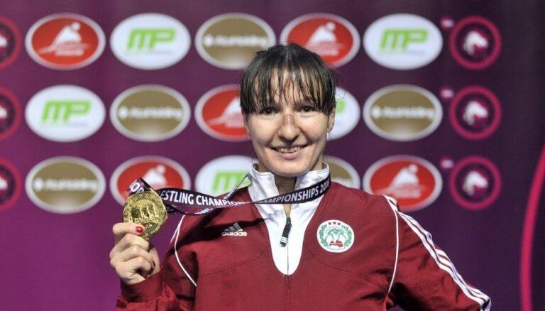 Латвийка Григорьева завоевала бронзовую медаль чемпионата Европы по борьбе