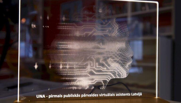 Uzņēmumu reģistra virtuālā asistenta 'UNA' izstrāde izmaksājusi 9,5 tūkstošus eiro