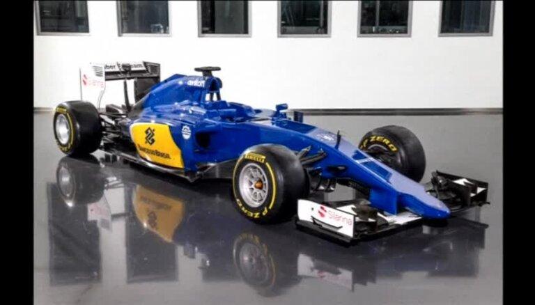 'Sauber' prezentē jauno formulu