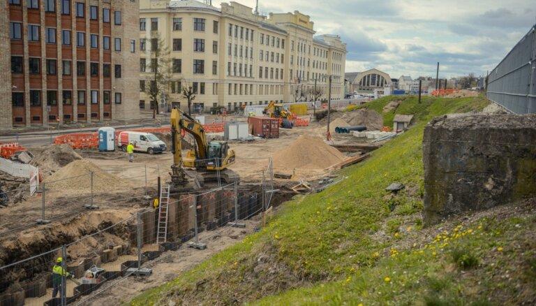 ФОТО: Что уже сделано на Центральном вокзале в рамках проекта Rail Baltica?