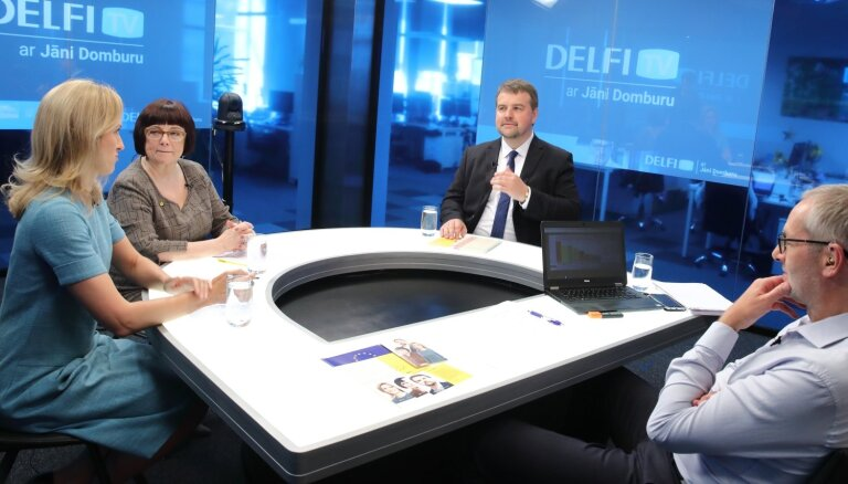 'Par ko balsot Eiropā?' – atbild 'Attīstībai/Par!'. Pilns ieraksts