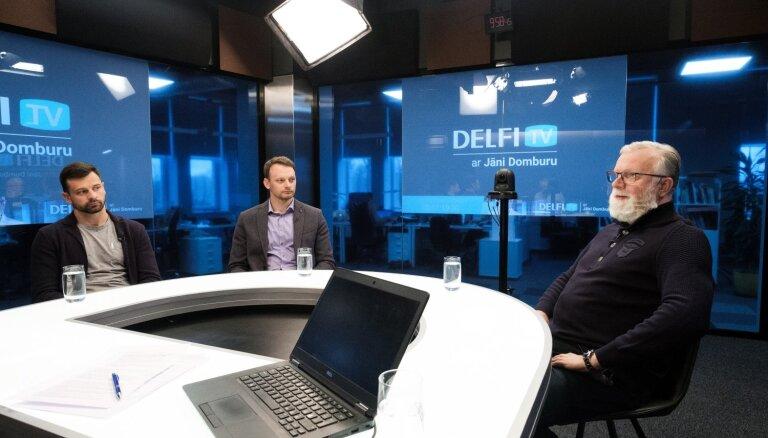 'Delfi TV ar Jāni Domburu' atbild Dukuru ģimene. Pilns raidījuma teksts