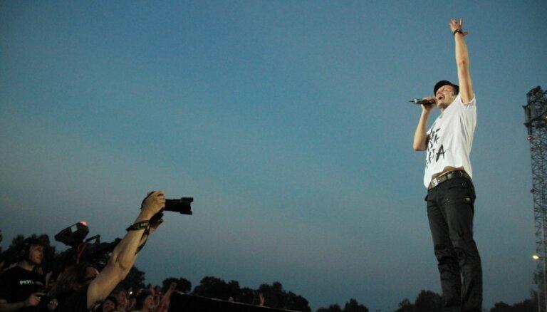'Prāta vētras' koncertu Jelgavā apmeklējuši 10 000 cilvēku