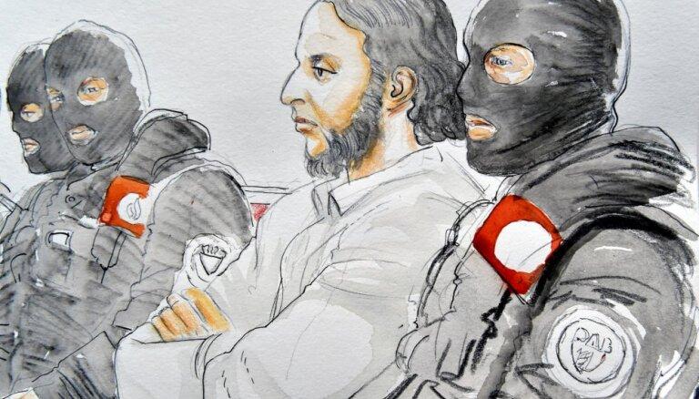 Начался суд над вероятным соучастником терактов в Париже