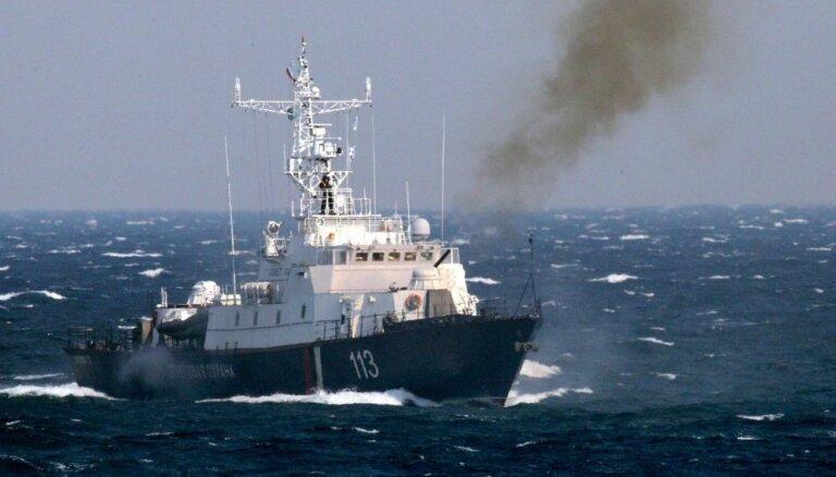 Kijeva apsūdz Krievijas robežapsardzes kuģi Ukrainas Jūras spēku velkoņa taranēšanā