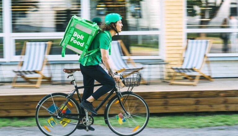 'Bolt' uzsācis ēdienu piegādi Tallinā, tuvākajos mēnešos – arī Latvijā