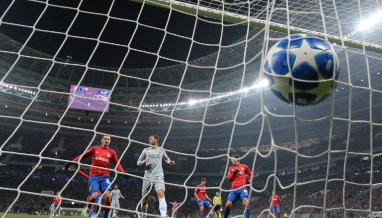 UEFA Čempionu līgas grupu turnīrs: Ronaldu vārti un zaudējums, 'Manchster City' sagrauj 'Šahtar'