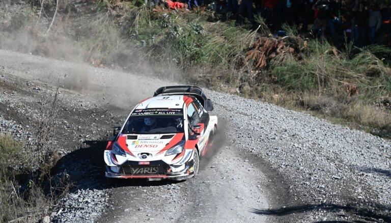 Igaunis Tanaks svin uzvaru WRC Čīles rallijā