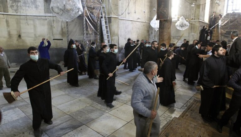 Священники подрались в храме Рождества Христова