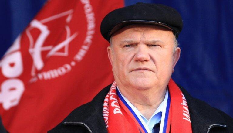 """Говорухин заявил о """"чистейших"""" выборах, Зюганов не признает результаты"""