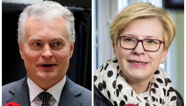 Оба кандидата в президенты Литвы выступили против жесткой риторики с Россией